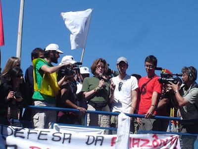 Sigourney Weaver in Brazil