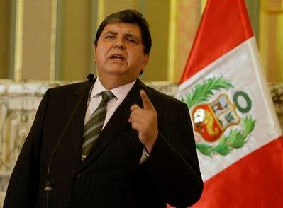 President Alan Garcia