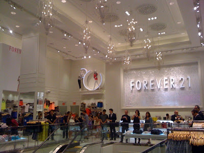 Forever 21 lights up Times Square