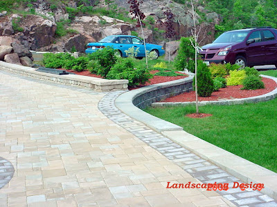Landscaping Design by Landry Builders A Driveway Project