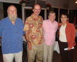 18 Nov 2010 (L to R) Michael Kein, Dennis Callan,Fran Dieudonne, Carol Sakamoto