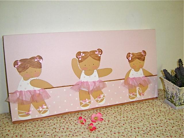 Cuadros infantiles bailarinas ballet imagui - Cuadros bailarinas infantiles ...
