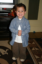We thought it would be funny to dress Isaac up as a cholo