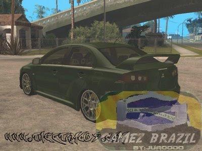 Mods GTA-Mitsubishi Lancer Evolution X MR