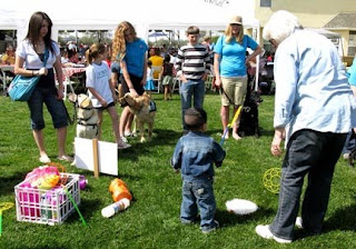 The Blind Babies Foundation beep Easter egg hunt