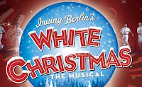 Logo: Irving Berlin's White Christmas