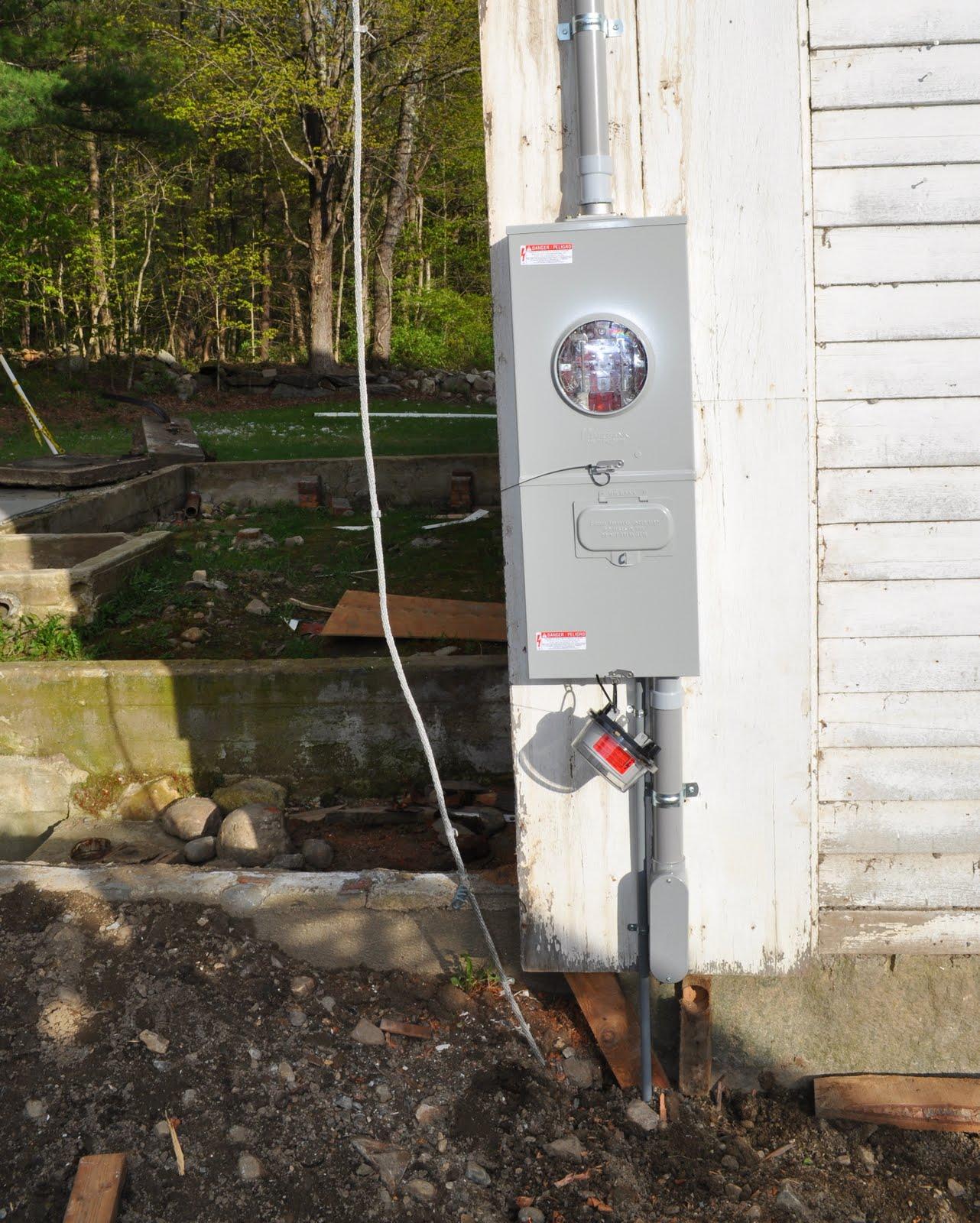 The Grange House: Electrical Stuff