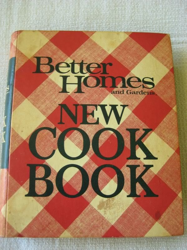 I Can Totally Make That Vintage Monday Better Homes Gardens Cook Book