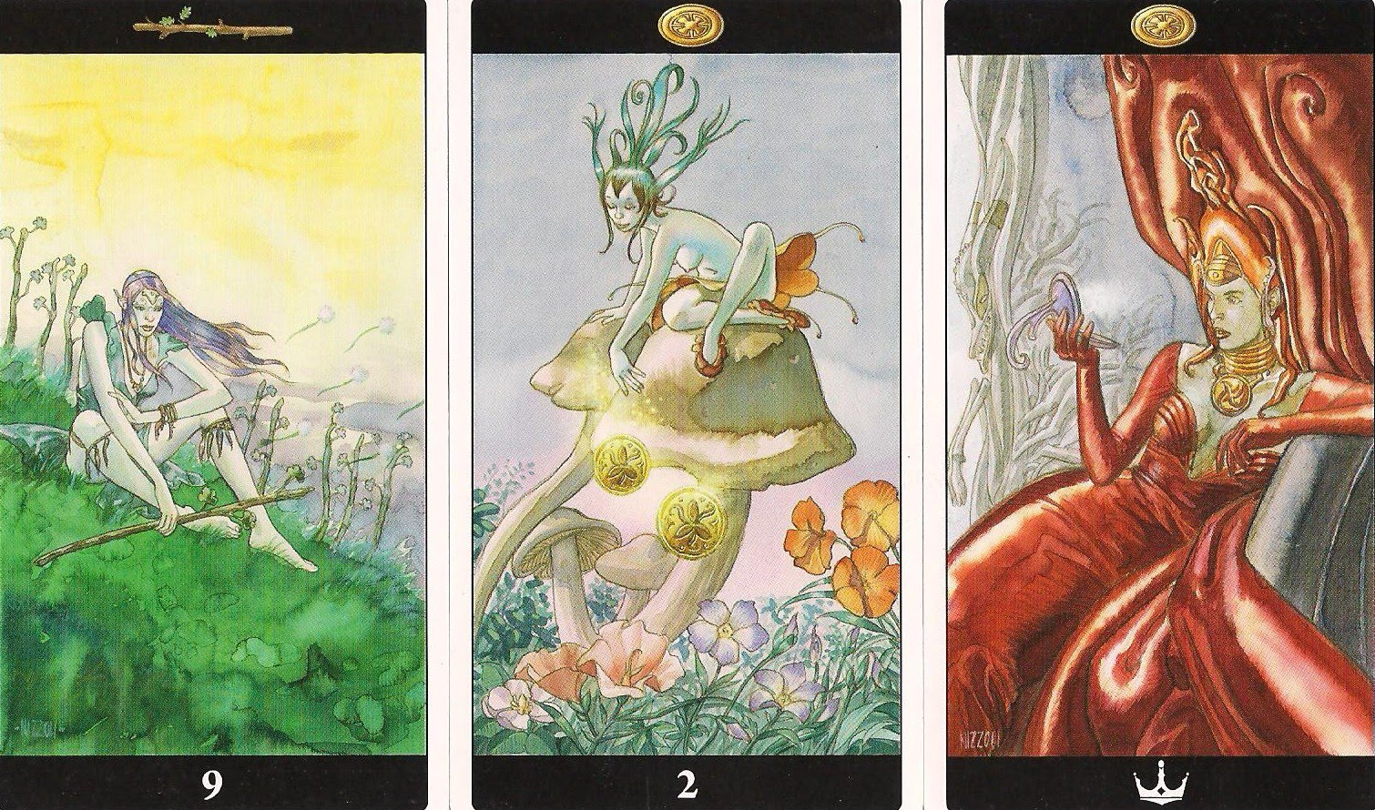 78 Whispers In My Ear: Daily Draw - Nine of Wands, Two of Pentacles ...