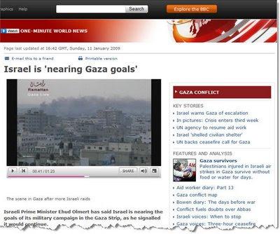 Israel creating more destructions