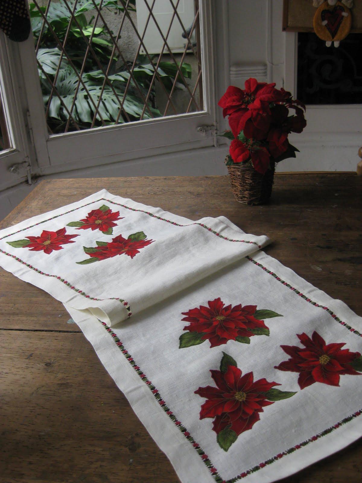 El talleret navidad 2010 camino de mesa for Camino mesa moderno