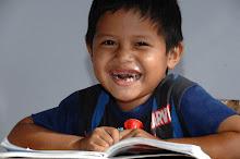 Le bonheur d'aller à l'école!