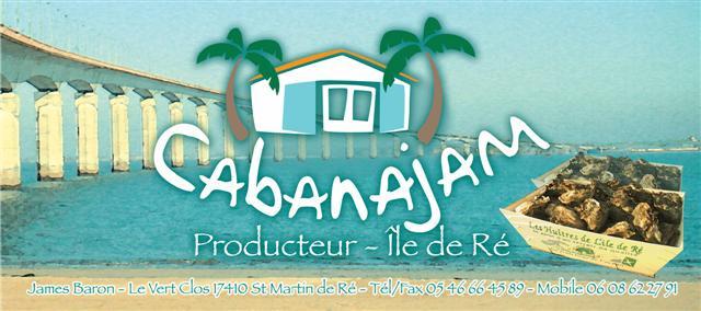 CABANAJAM, dégustation et vente d'huitres saint martin de Ré