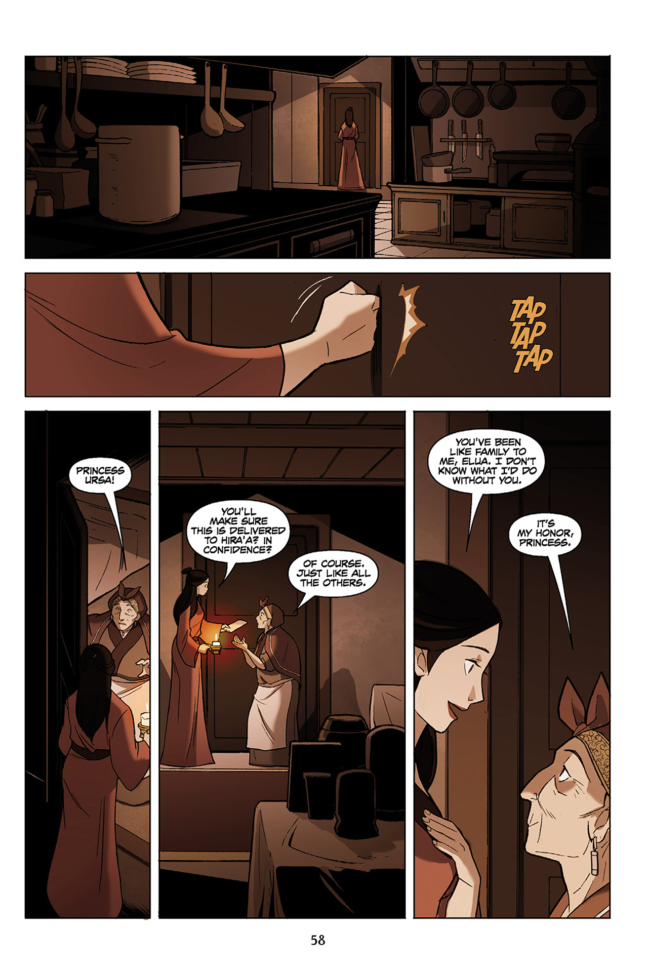 Read online Nickelodeon Avatar: The Last Airbender - The Search comic -  Issue # Part 1 - 59