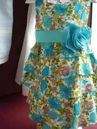 Vestido estampado en lino