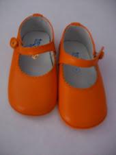 Badanas naranjas talla 19
