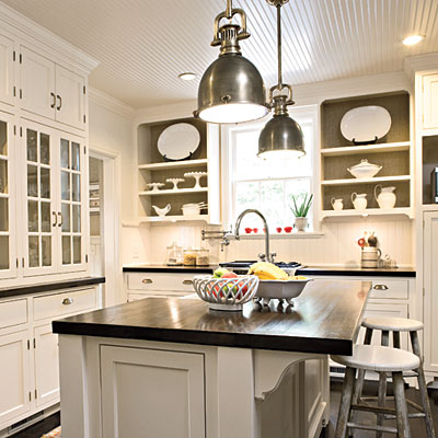 Home wall decoration kitchens southernaccents kitchens for Southern living kitchen designs