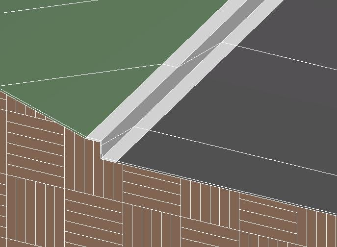 Bimtionary Curb And Gutter Along Topo