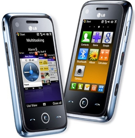 Vodafone's new LG GM750 Smartphone with Windows Mobile 6.5