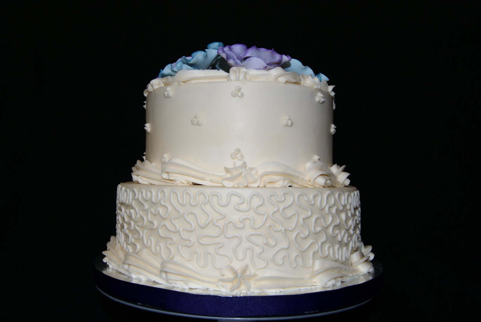 Wedding cake for a small intimate wedding