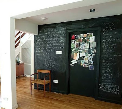Magnetic chalkboard paint chalkboard paint ideas - Kitchen chalkboard paint ideas ...