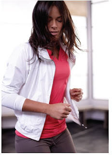 Ivanovic photo shoot for Adidas Me, Myself, I