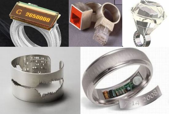Lifestyle Cafe Nerdiest wedding rings for geek couple