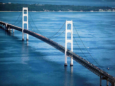 mackinac bridge mackinac island michigan Jembatan jembatan yang Paling Mengerikan di Dunia