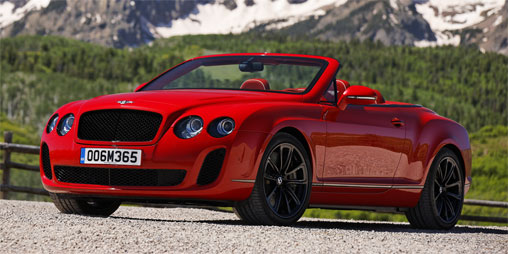 Bentley Continental Supersports Convertible | Car And Engines