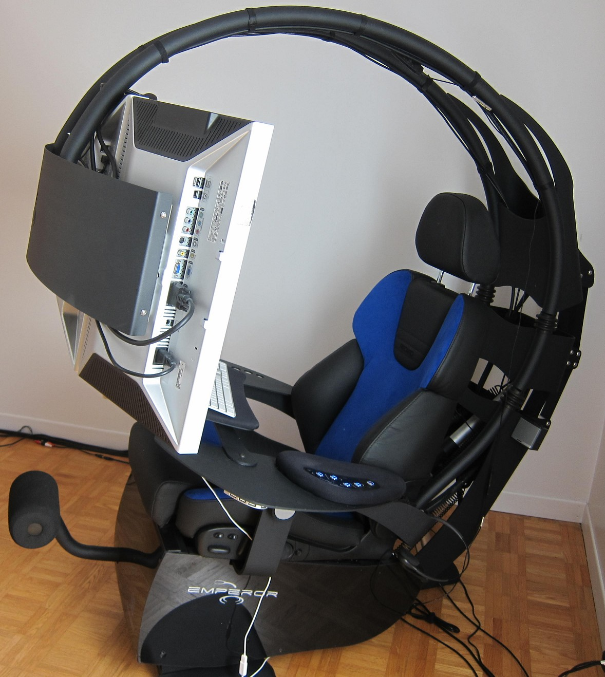M a 39 s technology blog novelquest mwelab emperor 1510 review for Chaise gamer pc
