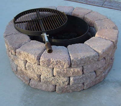 plans homemade fire pit