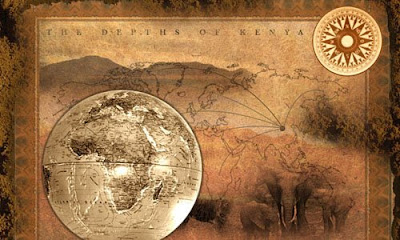 Старинная карта Сафари