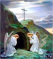 ANJOS, MULHERES, TÚMULO, JESUS, RESSURREIÇÃO