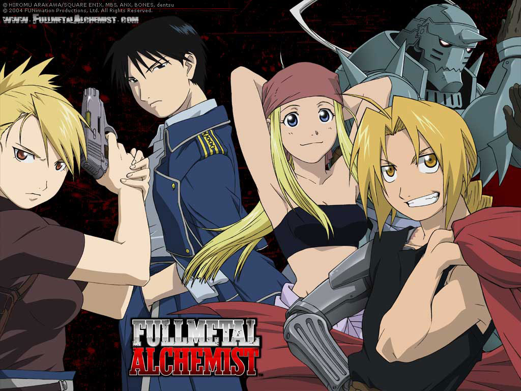Full metal alchemist: brotherhood 64/64 hd ligero