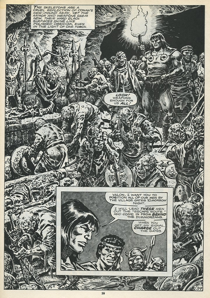 The Savage Sword Of Conan Issue #173 #174 - English 41