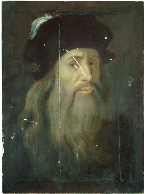 Self portrait of leonardo da vinci