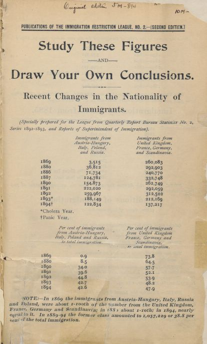an analysis of the united states influx of immigrants during the 1990s The united states encouraged immigration during its  during the past few decades, the influx of  of illegal immigration, the way that immigrants enter.