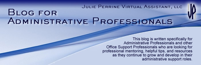 Administrative Professionals Blog