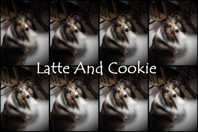 Latte and Cookie