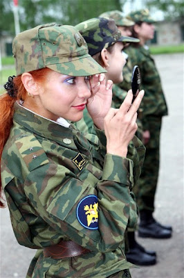 Military Women on Miss Russian Army Beauty Contest   Damn Cool Pictures