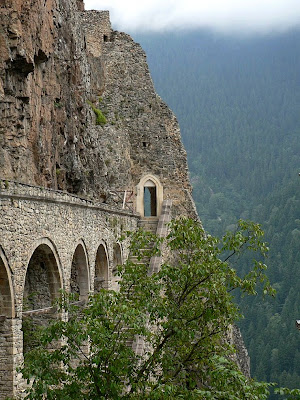 1914 Fiat S.57 14b Corsa. Sumela Monastery In Turkey