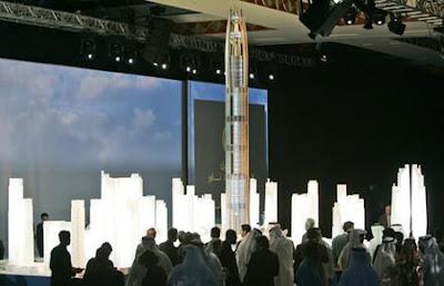 World's tallest building nakheel tower
