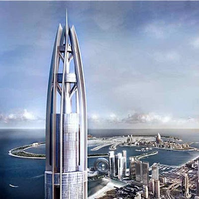 World's tallest building nakheel tower