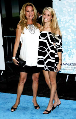 Kathie  Lee Gifford with daughter Cassidy