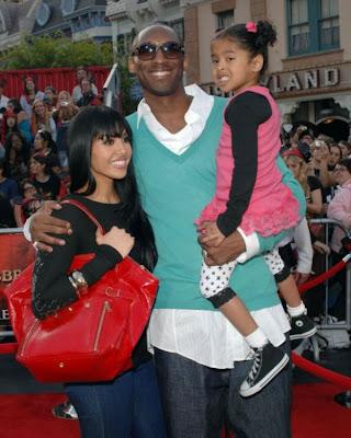 Kobe  Bean Bryant and daughter Natalia