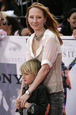 Anne  Heche and son