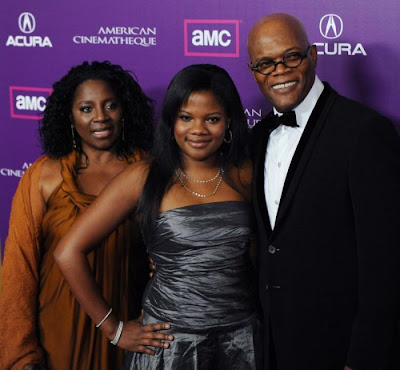 Samuel  L. Jackson and his daughter Zoey