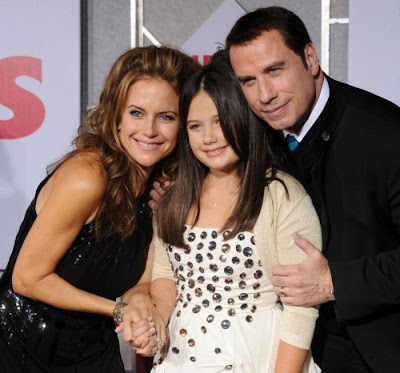John  Travolta and daughter Ella