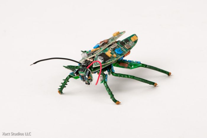 Pcb sculptures by steven rodrig