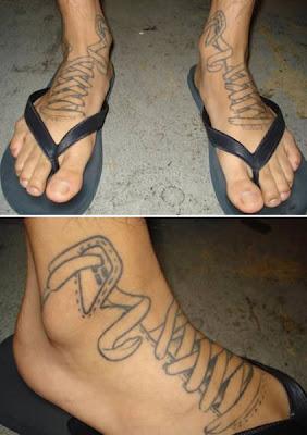 Tatto Di Kaki Yang Unik Noretz Area